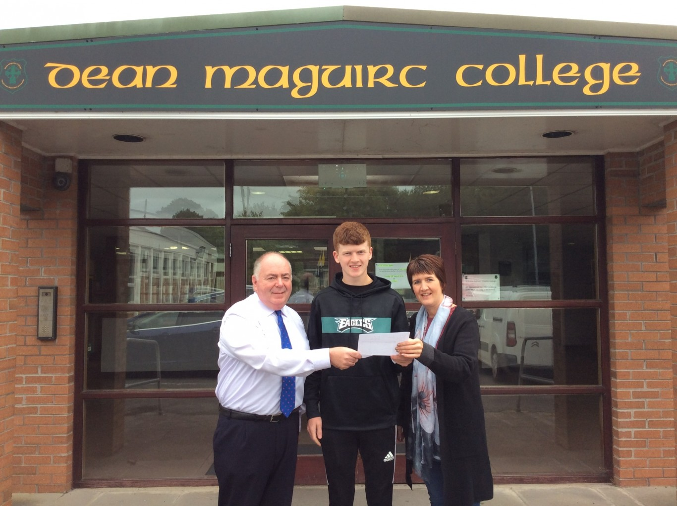 GCSE jubilation at Dean Maguirc College