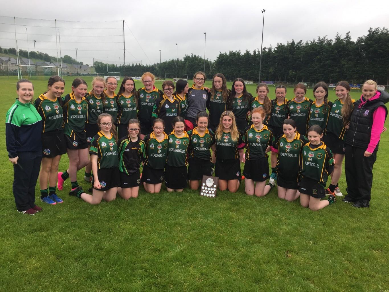 U14 Camogie Ulster Final Winners