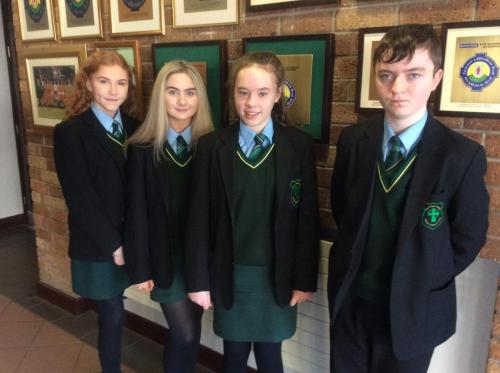 Gaelscoil students who achieved GCSE Irish at the end of Year 10